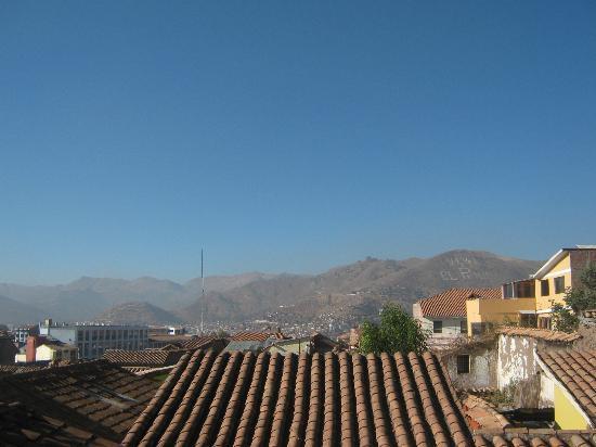 Hostal Llipimpac: vista desde nuestra habitación