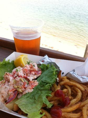 The Chicago House: lobster roll in P-town