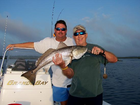 Angler's Mark Fishing Charter : Great for catching up with old friends