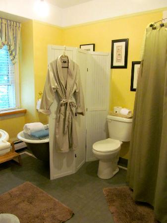 Inn On Carleton: Blue Room Bathroom