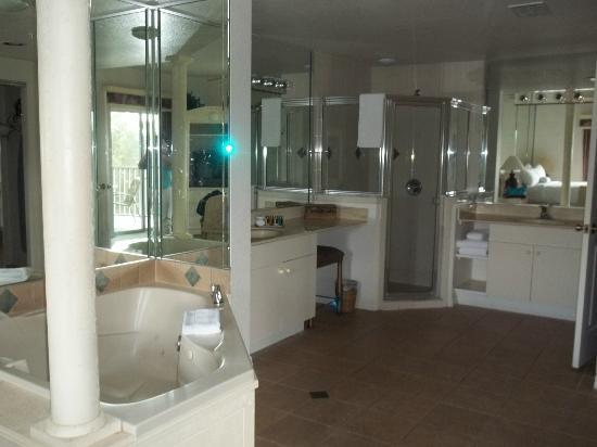 Celebration, FL: our big bathroom with the jet tub