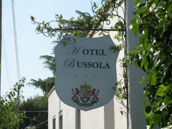 Hotel Bussola: Entrance