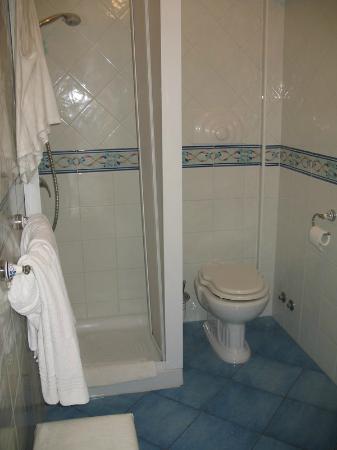Hotel Bussola: Shower