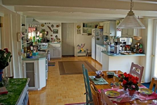 Hounds Tooth Inn: Homey kitchen