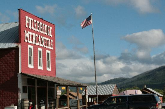 Polebridge Mercantile and Cabins: True Americana
