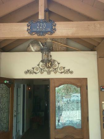 Old Ranch Inn : entrance