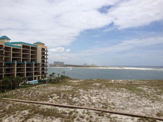Perdido Beach Resort: view from east tower balcony