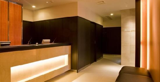 Hotel Mid In Meguro-Ekimae: フロント