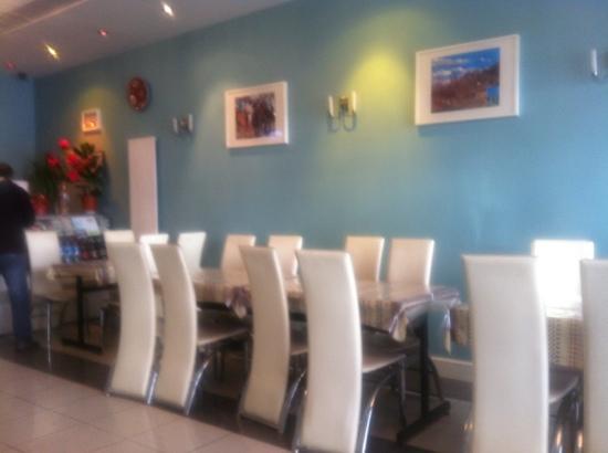 Mazar Restaurant: inside mazar