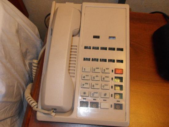 The Buena Park Hotel & Suites: The phone.