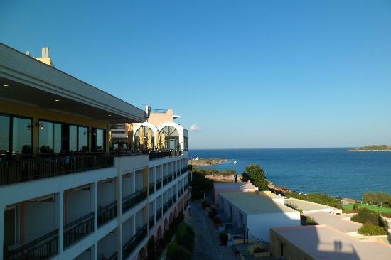 Mare Nostrum Thalasso Hotel: Vue du bar haut