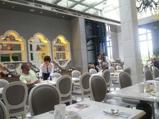 Dorsett Shanghai: Dining area