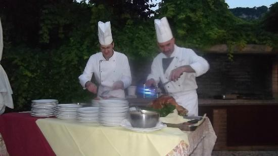 Hotel Villa Mulino: Thursday evening Gala Dinner