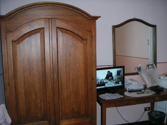 Hotel de l'Alboro: vue du lit
