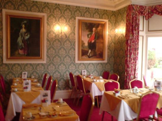 Annan Hotel: Breakfast Room