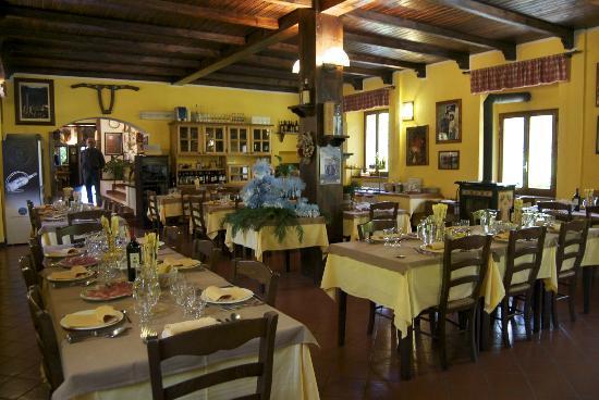 Hotel Corno Alle Scale: sala da pranzo