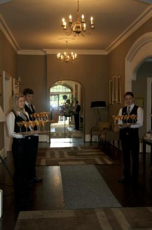 Woodside Hotel: reception