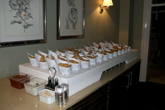 Woodside Hotel: fish and chip supper