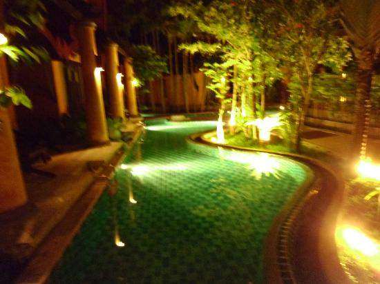 The Village Resort and Spa: By night from Pool Villa