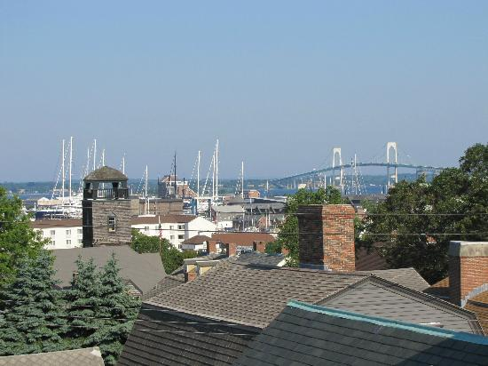 Mill Street Inn: View from the roof deck