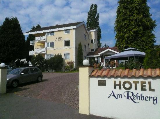 Hotel Am Rehberg: Hotel - Einfahrt