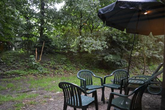 Center Parcs Het Meerdal: in the (secluded veranda)