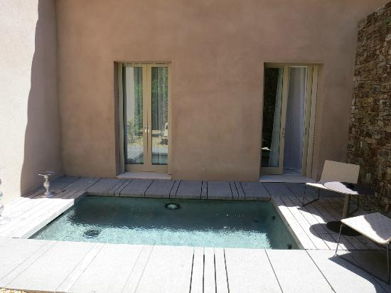 Muse Hotel: plunge pool