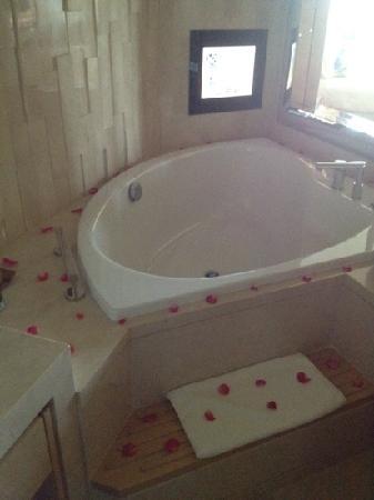 The Meydan Hotel: jacuzzi tub <3