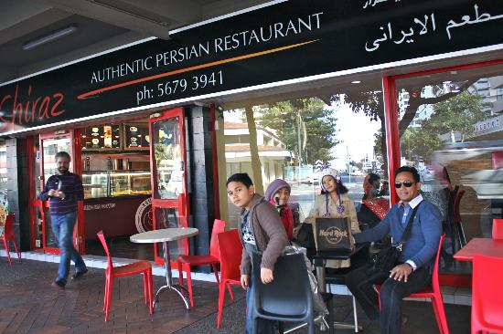 Shiraz Authentic Persian Restaurant We Had Our Lunch Outside In Front