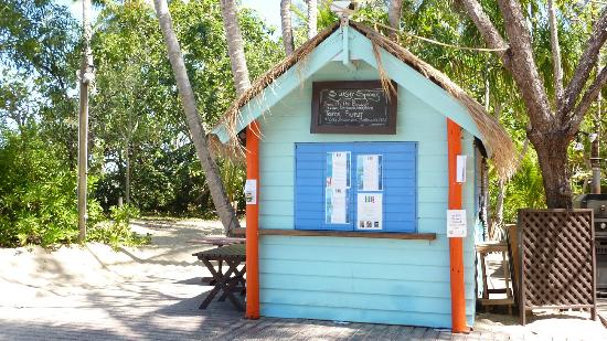 Kewarra Beach Resort & Spa: Beach bar