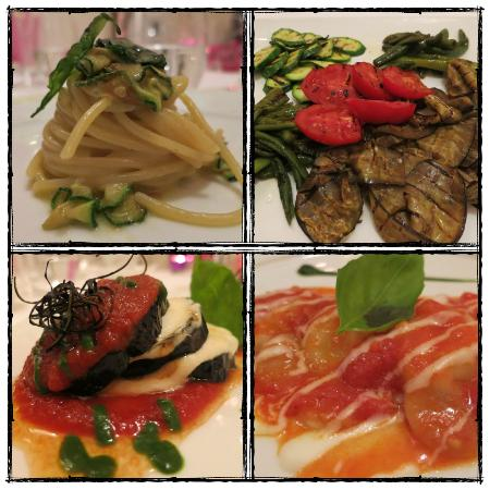 Don Alfonso 1890 Boutique Hotel: tasting dinner vegetarian