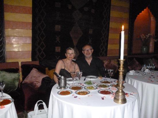 Dar Yacout: belles tables!