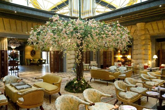 Flower decoration for easter picture of hotel metropole