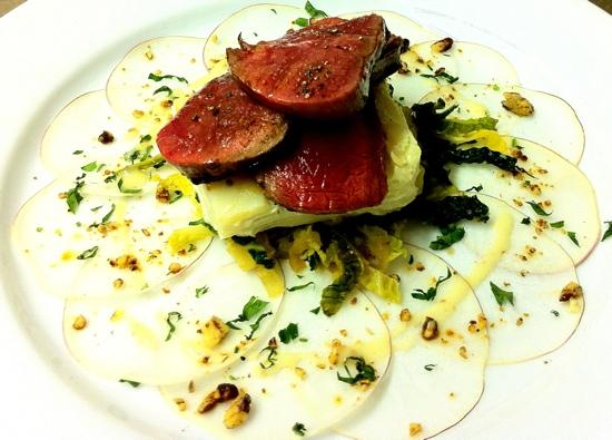 "The Vine Tree: venison "" old favourite will be back in the autumn """
