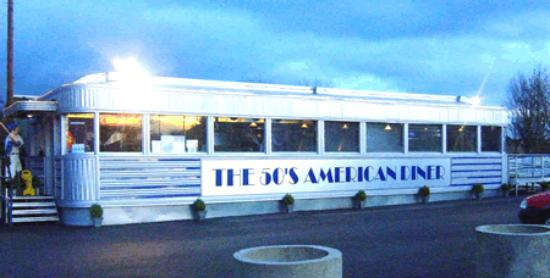 50's American Diner: The diner