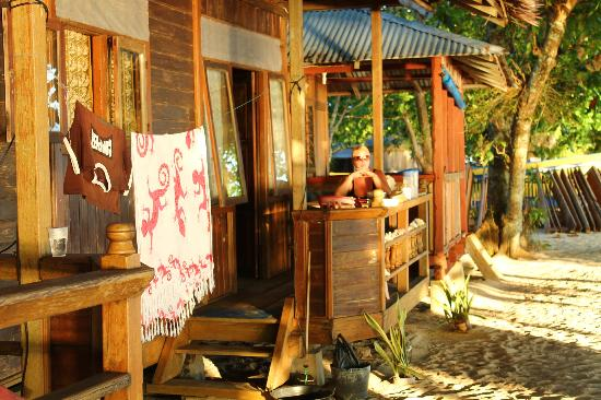 Tante Martha Homestay: The bungalow