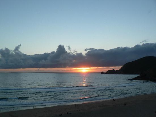 Puestas de sol que se disfrutan desde las terrazas del Hotel Mar da Ardora