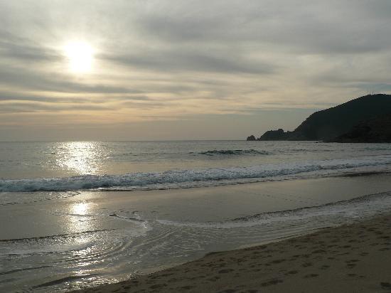 Hotel Mar da Ardora: Playa Mar de Fora situada a los pies de nuestro hotel