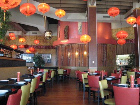 Molly Woo's Asian Bistro: Another Interior view (private room)
