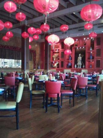 Molly Woo's Asian Bistro: Another interior view (taken from cellphone)