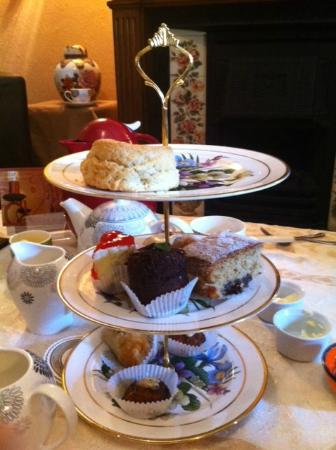 Kester House Bed & Breakfast : Divine afternoon tea at Kester House