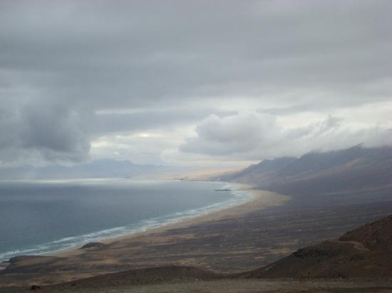 Playa de Cofete: View point