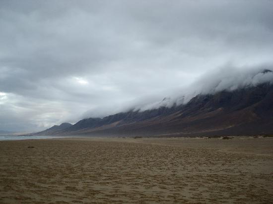 Playa de Cofete: beautiful landscape