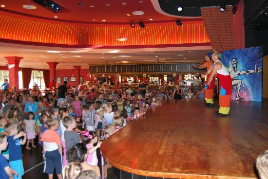 ClubHotel Riu Chiclana : salón de actos, espectaculos, mini disco peques
