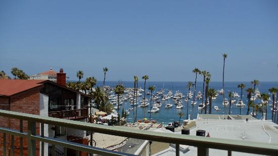 The Avalon Hotel: amazing views from balcony