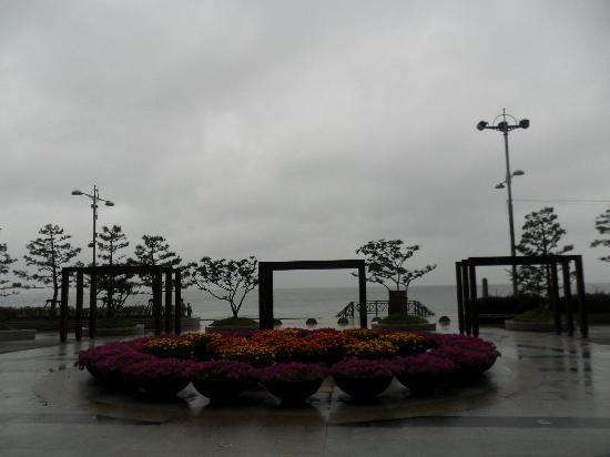 Haeundae Beach: entrance
