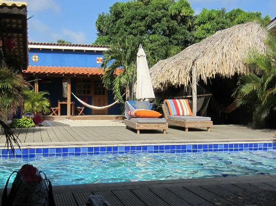 Pool area at Casa Calexico