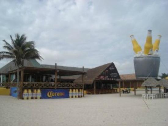 Restaurant In Progreso Beach Yucatan