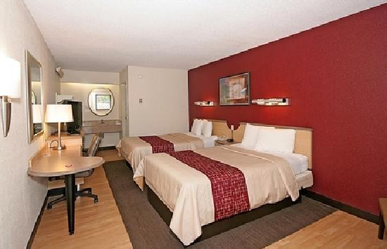 Red Roof inn Greensboro Airport : Double Room