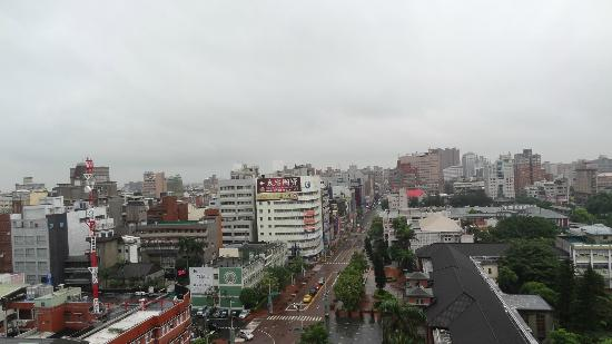 Forte Hotel Hsinchu : view from my room
